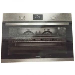 Simfer Built-in Electric Oven, Silver - 90 cm -B 9109 DERIM