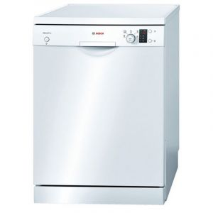 Bosch Dishwasher, 12 Place ,5 Program, 2 Level , White - SMS50E92GC