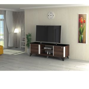 TV table FOR TV 43 INCH Without Stand ,Black-  CR43-130H