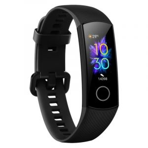 هونر ساعة ذكية باند 5 , شاشه عرض اموليد, مراقب ضربات القلب, مقاوم للماء, تتبع اللياقة البدنية,  - CRS-B19S