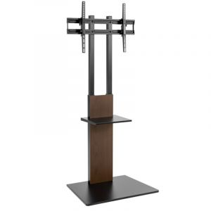 Modern Slim TV Floor Stans With Equipment Shelf From 37 Up 70 inch - FS16-46TD