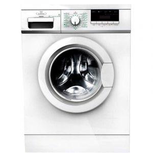 هوم كوين غسالة ملابس اتوماتيك امامية 8كجم, تنشيف 75%، أبيض - HQFM8003