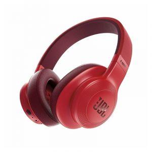 جي بي إل سماعه فوق الرأس بميكروفون , بلوتوث, احمر - JBLE55BTRED