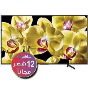تليفزيون سوني 55 بوصة ذكي, 4كيه ألترا اتش دي , اتش دي ار , اندرويد -KD-55X8000G ( اشتراك شاهد لمدة 12 شهر )