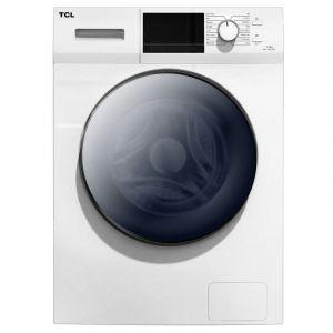 تي سي ال غسالة ملابس منزلية تعبئة امامية, سعة 6 كجم, تجفيف 75% , ابيض - TWF60-M10303DA03-05