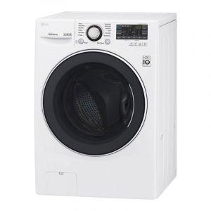 ال جي غسالة ملابس منزليه تعبئة امامية , سعة 14 كيلو , تنشيف 8 كيلو , أبيض - WC1408WH