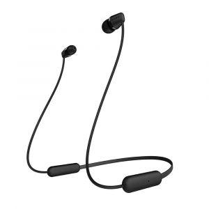 سوني سماعة داخل الأذن لاسلكية بميكروفون, اسود - WI-XB400/B