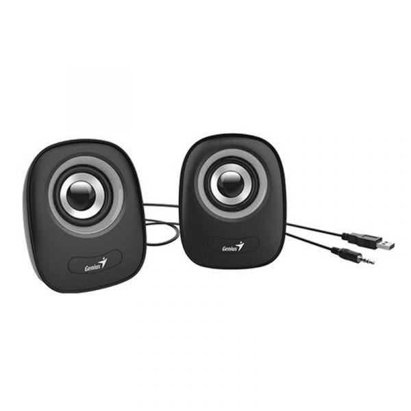 Genius Computer Speakers USB Power , Gray - SP–Q160