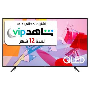 Samsung TV 85 inch QLED , 4K ,Smart , QUANTUM HDR , Black - QA85Q60TAUXUM