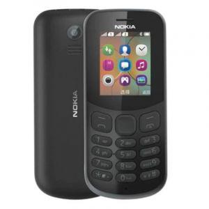 Nokia 130 -2017 , 8MB , Dual Sim , 2G , Black
