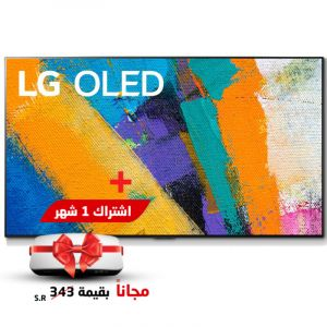 LG 65 Inch OLED , 4K , Smart TV ,Black - 65GXPVA