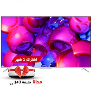 TCL TV 75 inch, 4K HDR 10 ,Smart , UHD, Android - 75P715