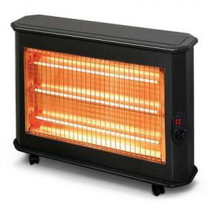 كومتل دفاية كهربائية قدرة 2000واط , خاصية التحكم بدرجة الحرارة , عدد 3 شمعات , نظام حماية عند السقوط - KS-2700