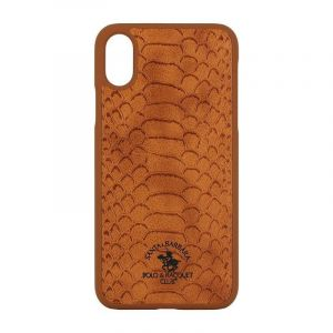 POLO SBPRC Apple Knight iPhone X - Brown- SB-IPXSPKNT-BRW