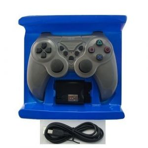 2B Wireless Gamepad for PC/ PS2/ PS3, Dual Vibration, Grey -  GP-03-5