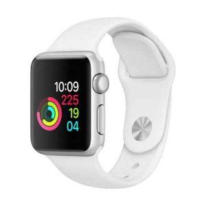 Apple Watch Sport Series 4, GPS, 44 mm, Space Gray, Aluminum Case, Ion-X Glass, Ceramic Black, White