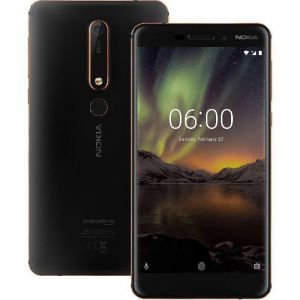 Nokia 6.1,5.5 inch, 32 GB,3 GB Ram, 4G ,LTE - Black