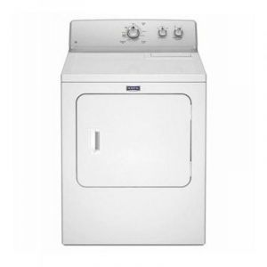 Maytag Dryer,7 Kg,2 Knobs,Front Load, Air Vented,Made in USA,White - 4KMEDC420JW