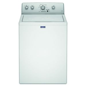Maytag Top Load Washer, 8 KG, USA, White - 4KMVWC420JW0