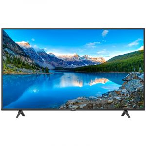 TCL 55 Inch LED TV, 4K UHD ,Smart HDR 10 , Android , Black - 55P615