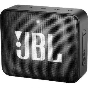 JBL GO 2 Portable Speaker, Bluetooth, Midnight Black
