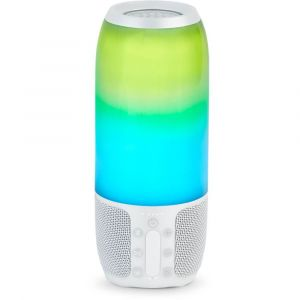 JBL Pulse 3 Portable Splash proof Bluetooth Speaker White