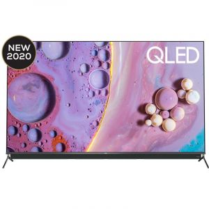TCL 55 Inch Q LED TV, 4K UHD ,Smart HDR 10 , Android - 55C815