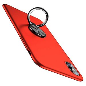 Baseus Case Ring For iphone X Red - WIAPIPHX-ZH09