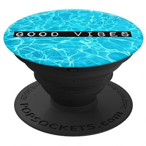 Popsockets Good Vibes  - Underwater Photo Matte Print Grip