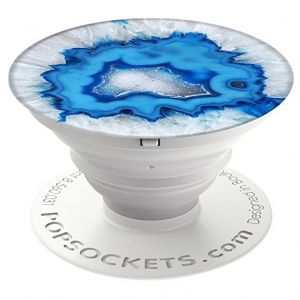 Popsockets Ice Blue Agate Grip