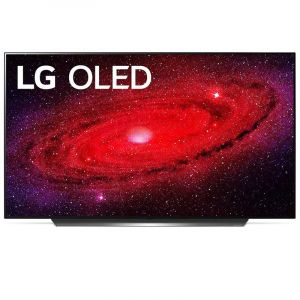 ال جي تلفزيون 55 بوصه او ال اي دي , 4 كيه , ذكي , اسود - 55CXPVA