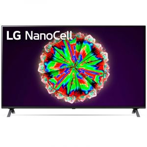LG TV 65 inch LED ,4K Active HDR , Smart , SUHD - 65NANO80VNA