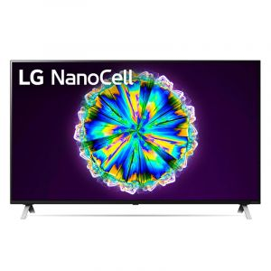 LG NanoCell TV 65 Inch NANO86 Series, Cinema Screen Design 4K Cinema HDR WebOS Smart AI ThinQ Local Dimming - 65NANO86VNA