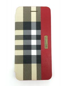 SBPRC Polo Apple Plaid iPhone 7 cover case -  Folio case - SB-IP7SPPLA-FLBRW