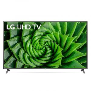 LG TV 86 inch LED , 4K Active HDR WebOS, Smart AI ThinQ, Cinema Screen Design, UHD ,Series - 86UN8080PVA