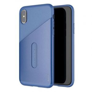 BASEUS Card Pocket Case For iPhone X Dark blue