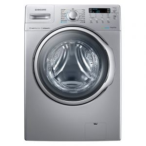 Auto Washing Machine by Samsung, Front Load, 15 Kg, Silver, WD15F7K5AGV
