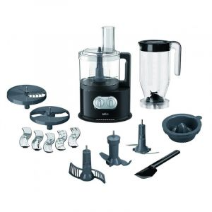 Braun 1000 Watts IdentityCollection Food processor, Black- FP5150
