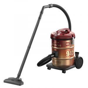 Hitachi Vacuum Cleaner 18L , 2000W ,Red -  CV-945F SS220 WR