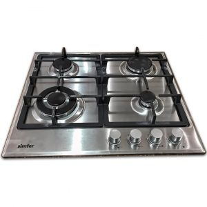 Simfer Built-In Gas Hob ,60 cm , 3 Burners Normal ,1 Burner Trible Head ,Safety system - H 6405 VGRM