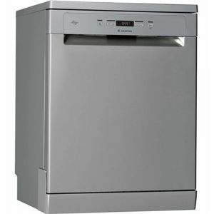 Ariston Dishwasher, 7 Programs, 14 place settings, Silver - LFC 3C26X 60HZ