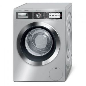 BOSCH Automatic Washing Machine ,Front Load ,Capacity 9 Kg ,1600 RPM , i DOS Technology ,Silver - WAY3286XSA
