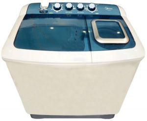 Midea Washing Machine, Twin Tub, 10 Kg, Dryer 4.6 Kg, White, TW100AD