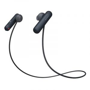Sony In-Ear Headset, Bluetooth/NFC, Built-in Microphone, Black- WI-SP500