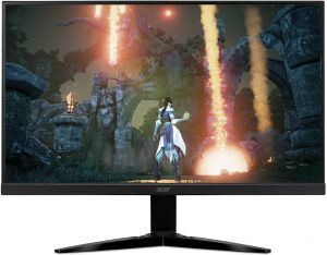 "Acer Monitor 23.6"" LED,Full HD1080,  with AMD FREESYNC Technology ,Black - KG241QSbiip.blackbox"
