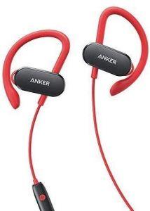 أنكر سماعة الأذن ساوندبادز اللاسلكية المنحنية - أحمر - A3263HL1