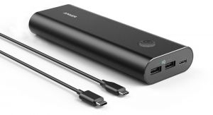ANKER Power Core Portable Power Bank - 20100 mAh - 2 USB Ports - Black - A1371H12
