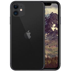 أبل ايفون 11 سعة تخزين 64 جيجابايت ,الجيل الرابع , أسود