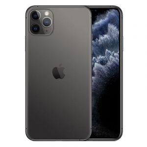ابل ايفون 11 برو ماكس, سعة 64 جيجابايت ، 4 جيجابايت رام ،الجيل الرابع 4 جي - رمادي فلكي