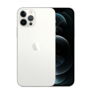 Apple iPhone 12 Pro Max, 6.7 inch, 256 GB ,6 GB Ram ,5G ,Silver - MGDD3AA/A